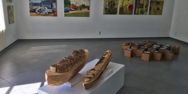 Eröffnung der Ausstellung KREISWEITEN - wenden