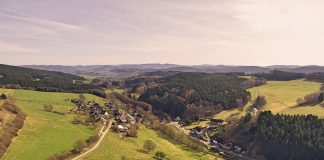 Luftbild Repe - Sauerland