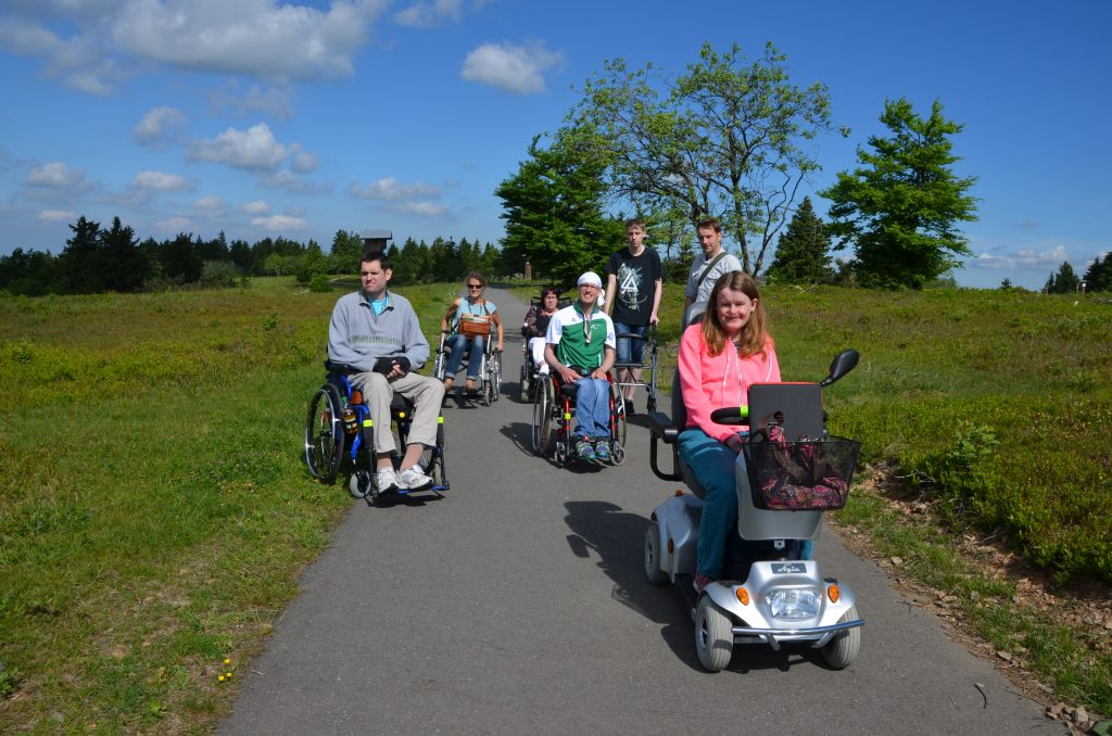 Im Rollstuhl rund um den Kahlen Asten - winterberg, region, region-wi-me-ha, hallenberg