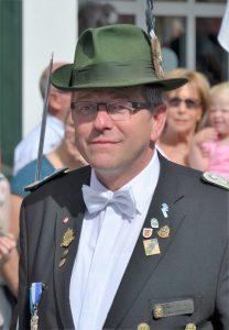 Bundesschützenfest Medebach ? - Hauptmann Josef Schreibe