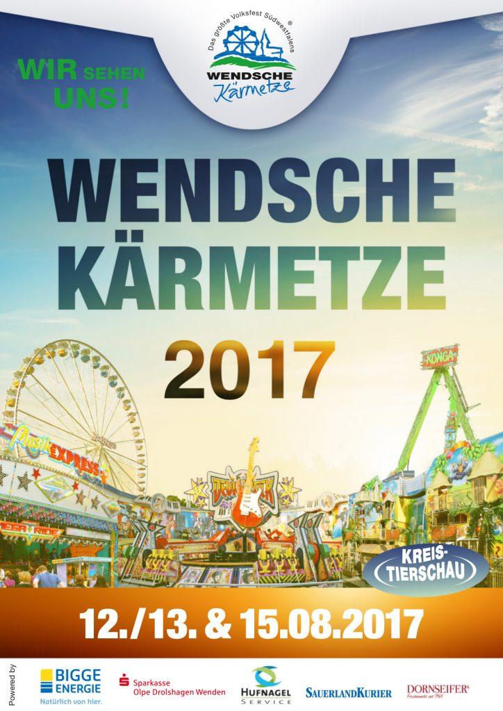 Wendsche Kirmes 2017 plakat