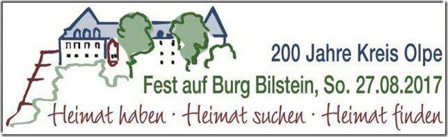 """""""200 Jahre Kreis Olpe"""" - Jubiläumsfeier auf Burg Bilstein - lennestadt"""