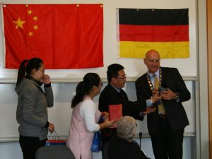 Volleyballnachwuchsteam der Shanghai Sports School in Sundern - sundern, region-arnsberg-sundern