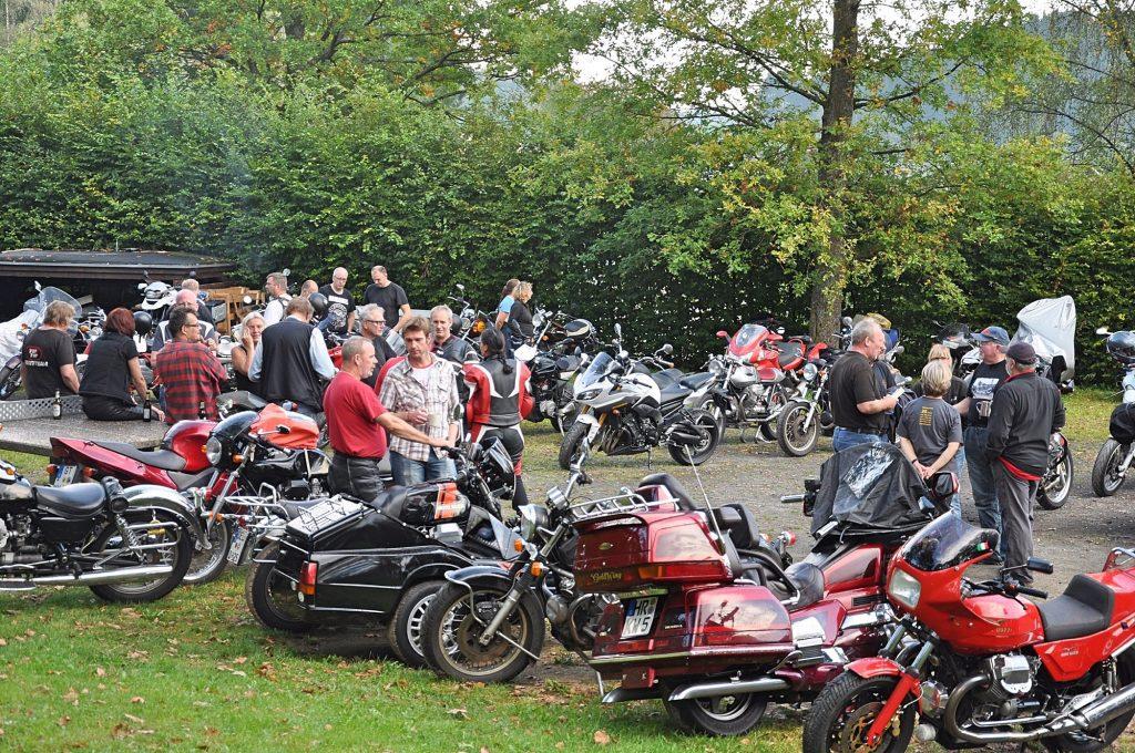 Moto Guzzi Club Olpe-Biggesee - Treffen Wenden-Elben