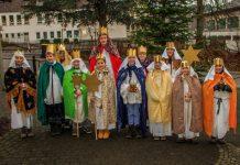 Die Sternsinger der Filialkirchengemeinde Hützemert
