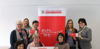 "Caritas-Kampagne ""Hilfe durch Dich"""
