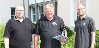 Hermann-Josef Breidebach als Bezirksschornsteinfeger verabschiedet