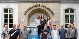 Krombacher Brauerei mit elf neuen Auszubildenden