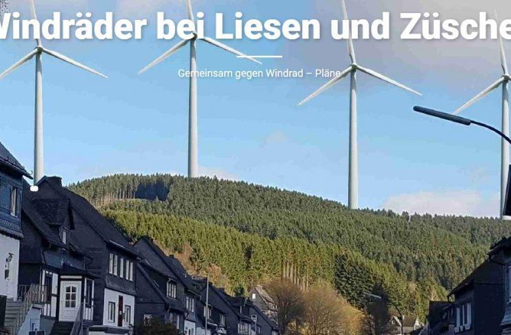 """""""Es tut mir leid für Sie: Wir wollen in Hallenberg einen Windpark bauen!"""""""