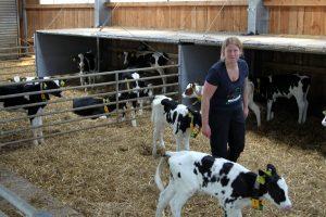 Ein Traumberuf mit Tradition: Katrin Engels bewirtschaftet ihren eigenen Hof - region