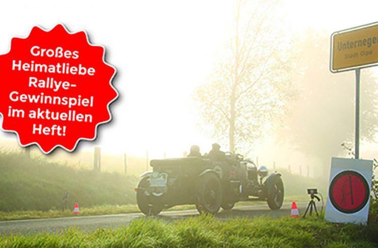 Großes Heimatliebe Rallye-Gewinnspiel im aktuellen Magazin!
