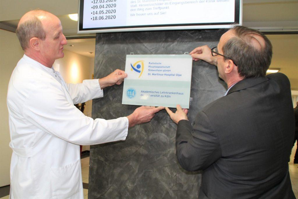 Medizinstudierende im Praxisjahr können Ausbildung in Olpe absolvieren - olpe