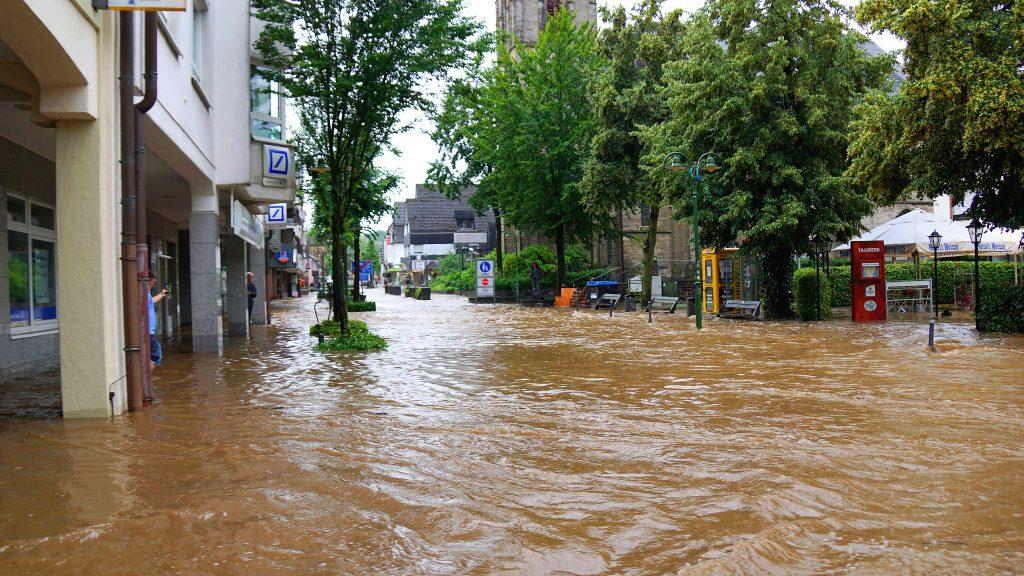 Hochwasserlage in Arnsberg und Sundern - sundern, region, region-arnsberg-sundern, arnsberg
